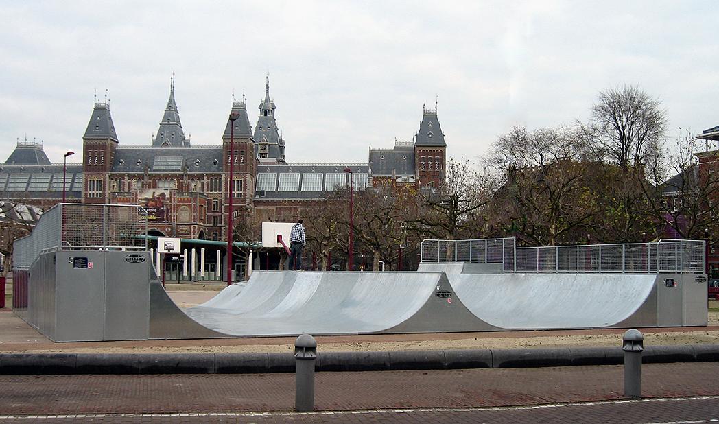 Skatebaan Museumplein