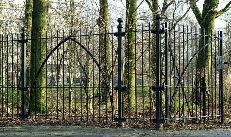 Hekwerk Oosterpark Amsterdam