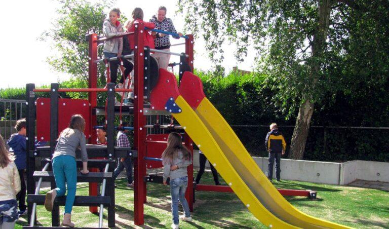 Schoolplein Aloysiusschool Overveen