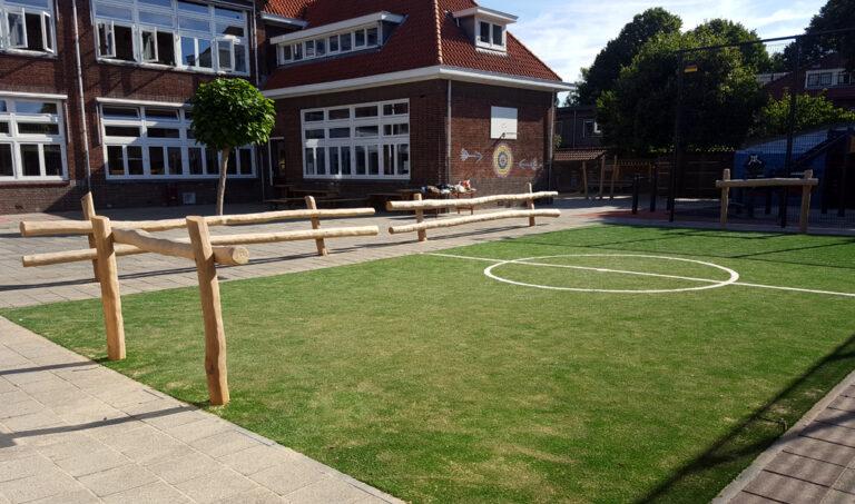 Schoolplein Jacobaschool Heemstede