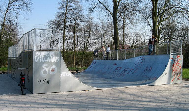 Skatepark Van Leeuwenhoek Haarlem