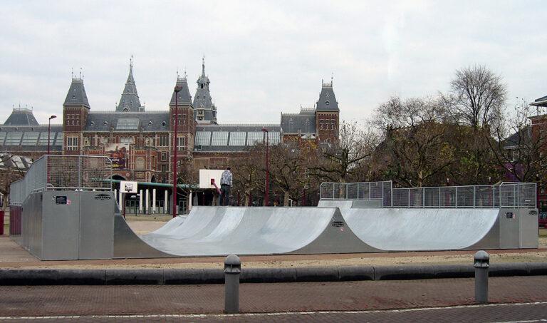 Skatepark Museumplein Amsterdam