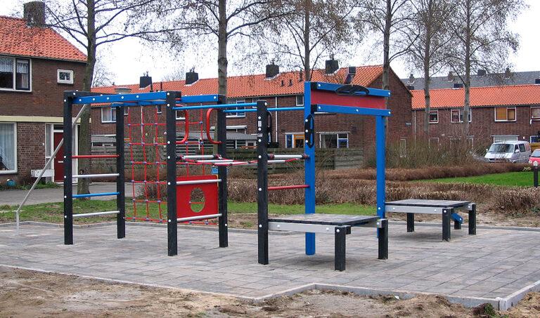 Kunststof speeltoestel – Lianenbos